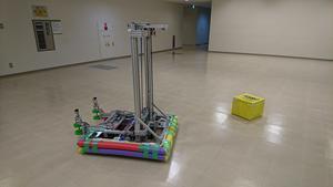 ロボットテスト中