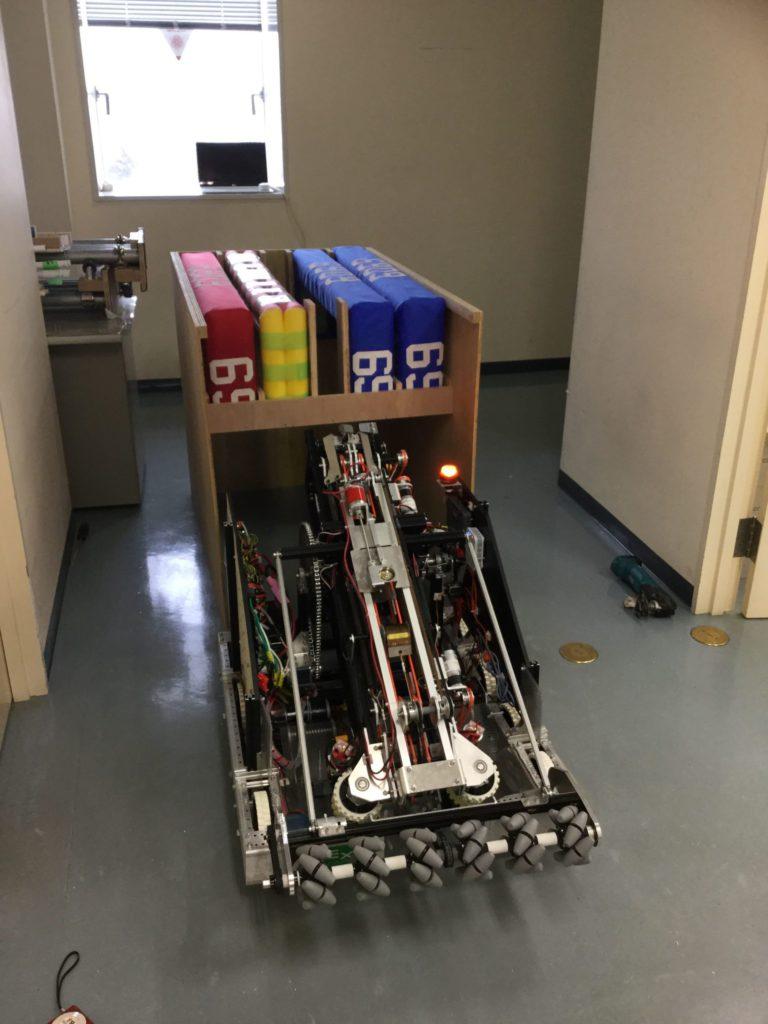 クレート+ロボット