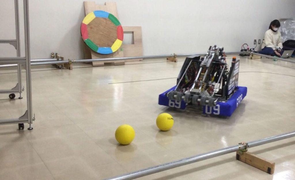 ロボット調整中